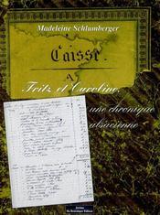 Fritz Et Caroline, Une Chronique Alsacienne - Intérieur - Format classique