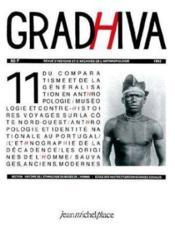 Cahier De Gradhiva N.11 - Couverture - Format classique