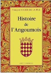 Histoire de l'Angoumois - Couverture - Format classique