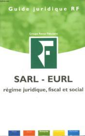 La Sarl Eurl - Couverture - Format classique