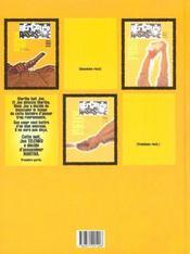 Berceuse assassine t.1 ; le coeur de telenko - 4ème de couverture - Format classique