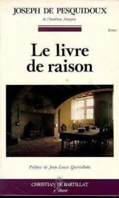 Le Livre De La Raison - Couverture - Format classique