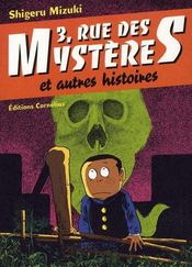 3 rue des mystères et autres histoires t.1 - 4ème de couverture - Format classique