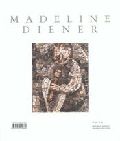 Madeline Diener, Son Oeuvre - 4ème de couverture - Format classique