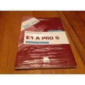 E1A pro S ; pochette de l'eleve – Francois Cartier