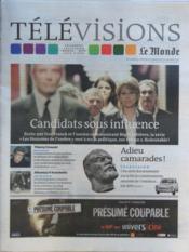 Television Le Monde du 23/01/2012 - Couverture - Format classique