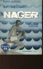 Apprenons A Nager - Couverture - Format classique
