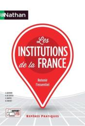 Vente livre :  Les institutions de la France  - Collectif