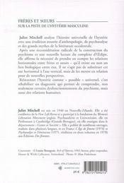 Des fous et des méduses ; sur la piste de l'hystérie masculine - 4ème de couverture - Format classique