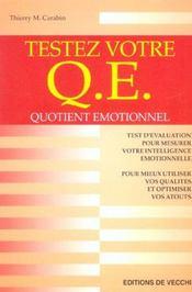 Testez Votre Q.E - Intérieur - Format classique