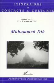 Mohammed Dib - Intérieur - Format classique