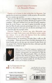 La Peste Noire T.2 ; Le Roi Chiffonnier - 4ème de couverture - Format classique