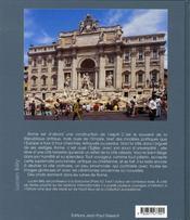 Rome, L'Eternite Au Quotidien - 4ème de couverture - Format classique