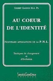 Coeur De L'Identite - Couverture - Format classique