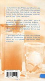 Punchs ; 100 recettes exotiques - 4ème de couverture - Format classique