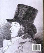 Les Minis Du Grand Art ; Goya - 4ème de couverture - Format classique