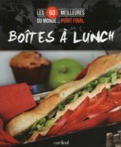 Boites à lunch - Couverture - Format classique
