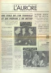 Aurore (L') N°9035 du 18/09/1973 - Couverture - Format classique