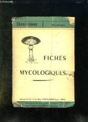 Fiches Mycologiques. - Couverture - Format classique