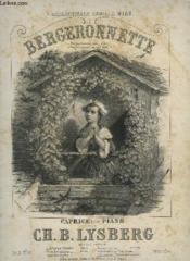 Bergeronnette - Caprice Pour Piano. - Couverture - Format classique