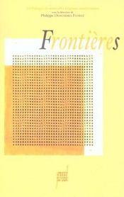Frontieres - Intérieur - Format classique