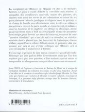 Lexique D'Histoire Et De Civilisation Irlandaises - 4ème de couverture - Format classique