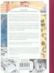 Le tour de Gaule raconté par deux enfants - 4ème de couverture - Format classique