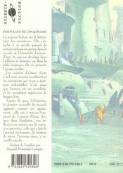 Avatars ; portulans de l'imaginaire livre ii - 4ème de couverture - Format classique