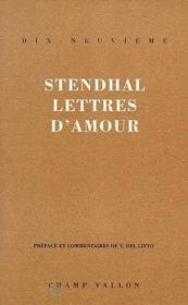 Lettres D'Amour - Couverture - Format classique