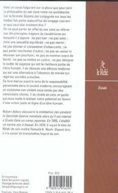 Agir Zen ; Une Morale Vivante - 4ème de couverture - Format classique