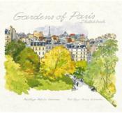 Gardens Of Paris Sketchbook (Ed. Didier Millet) /Anglais - Couverture - Format classique