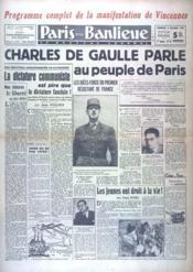 Paris Et Sa Banlieue N°12 du 05/10/1947 - Couverture - Format classique
