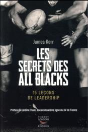 Vente  Les secrets des All Blacks ; 15 leçons de leadership  - Pascal Tonazzi - Kerr James - James Kerr