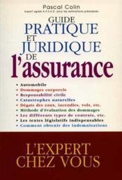 Guide pratique et juridique de l assurance - Couverture - Format classique
