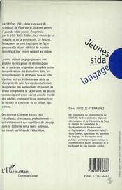 Jeunes Sida Langage - 4ème de couverture - Format classique