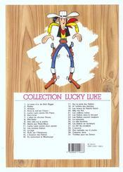 Lucky Luke t.26 ; les Dalton se rachètent - 4ème de couverture - Format classique
