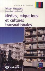 Médias, migrations et cultures transnationales - Intérieur - Format classique
