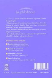 Du Contrat Social (Rousseau) - 4ème de couverture - Format classique