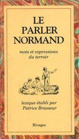 Le parler normand - Couverture - Format classique