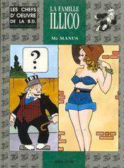 Chefs d'oeuvre BD populaire t.3 ; la famille Illico - Intérieur - Format classique
