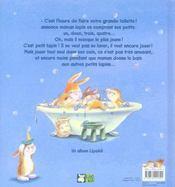 Au bain, petit lapin ! - 4ème de couverture - Format classique
