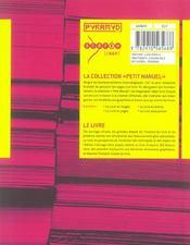 Le livre - 4ème de couverture - Format classique