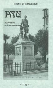 Pau souvenirs et impressions - Couverture - Format classique