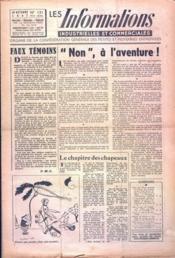 Informations Industrielles Et Commerciales (Les) N°131 du 24/10/1947 - Couverture - Format classique
