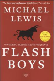 Vente livre :  Flash boys  - Michael Lewis