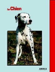 Le chien - 4ème de couverture - Format classique