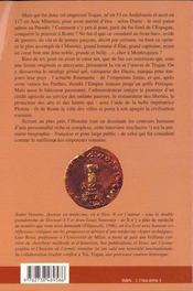 Toi Trajan ; Treize Entretiens Avec Un Empereur Paien Au Paradis - 4ème de couverture - Format classique