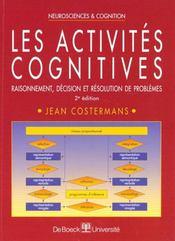 Les activites cognitives - Intérieur - Format classique