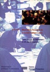 Publics Et Usages Des Bibliotheques, Un Defi Pour La Cooperation - Couverture - Format classique