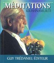 Meditations - Intérieur - Format classique